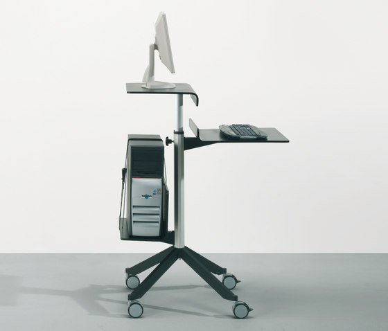 adeco wallstreet workstation von adeco | Service Trolleys / Tische