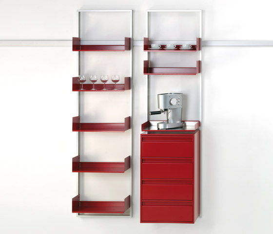 adeco wallstreet kitchen by adeco | Shelving