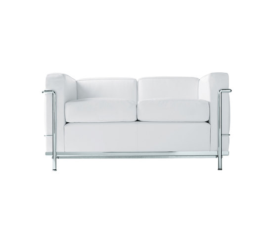 LC2 2-seater sofa de Cassina | Sofás lounge