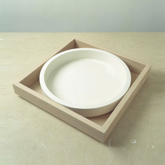 Tray by when objects work   Bowls