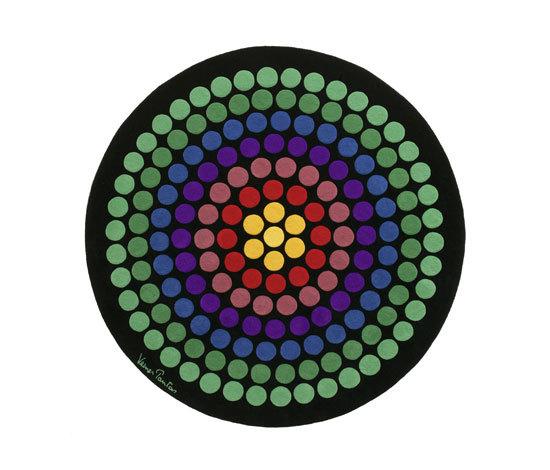 Verner Panton VIII de Designercarpets | Alfombras / Alfombras de diseño