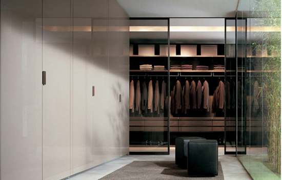 Ubik system by Poliform | Walk-in wardrobes