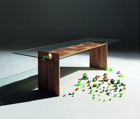 Ripples Table by HORM.IT | Dining tables