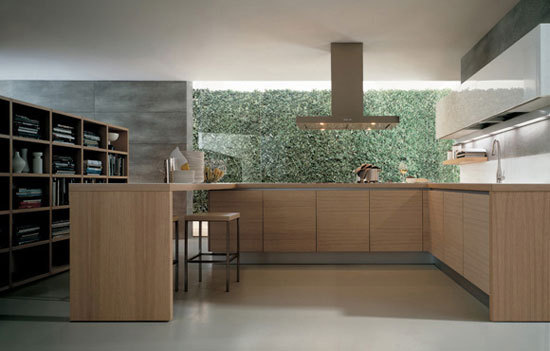 Alea by Varenna Poliform | Fitted kitchens