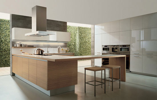 Alea by Varenna Poliform | Fitted kitchens