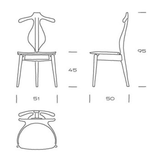 pp250 | Valet Chair by PP Møbler | Clothes racks