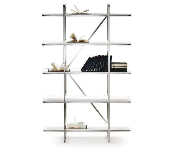 Carlotta Bookshelves by Flexform | Shelving