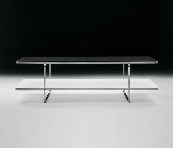 Carlotta small table rectangular by Flexform | Lounge tables