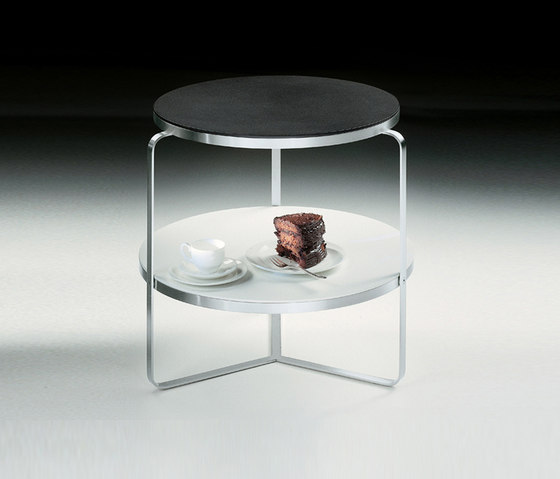 Carlotta small table round by Flexform | Side tables