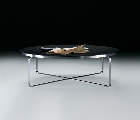 Carlotta low table round by Flexform | Lounge tables