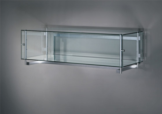 Visibile Horizontal Hanging by Alinea Design Objects | Display cabinets