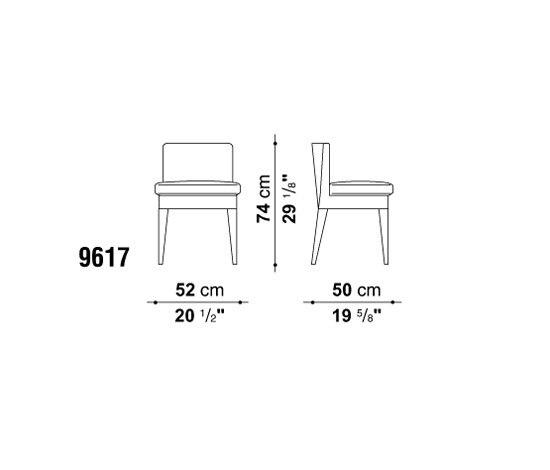 Eunice by Maxalto | Chairs