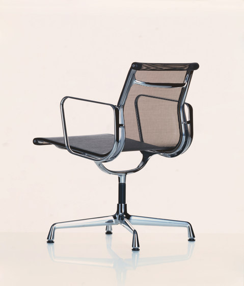 Aluminium Chair EA 108 by Vitra | Visitors chairs / Side chairs