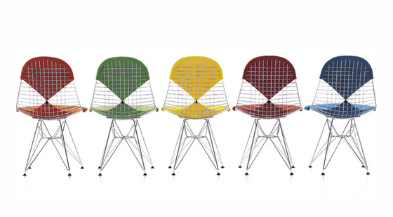 Wire Chair DKR-2 by Vitra | Visitors chairs / Side chairs