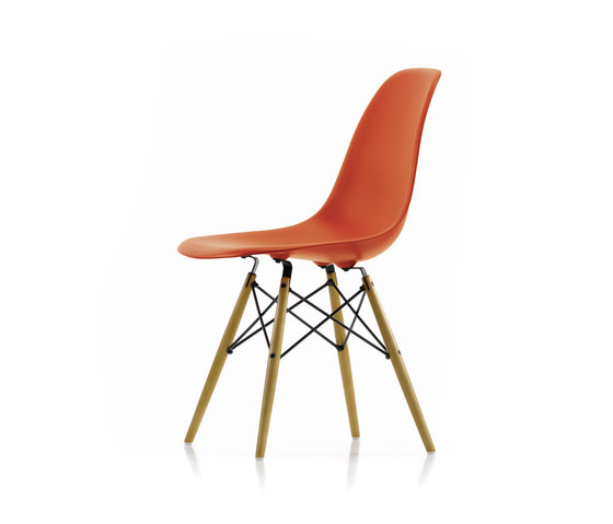 Eames Plastic Side Chair DSW by Vitra | Multipurpose chairs