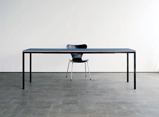 Pull-out table by Lehni | Dining tables