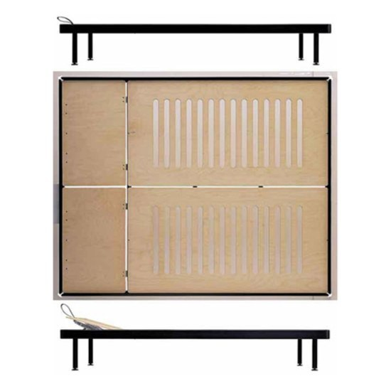 Bed 2 / Lounger 2 de Lehni | Camas