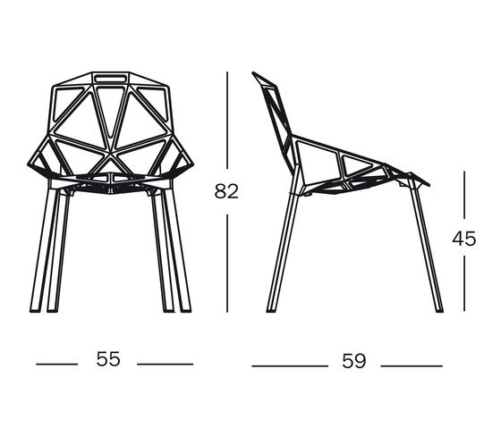 Chair_One by Magis | Garden chairs