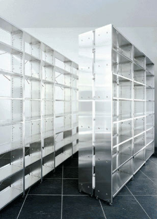 Library shelves by Lehni | Library shelving systems