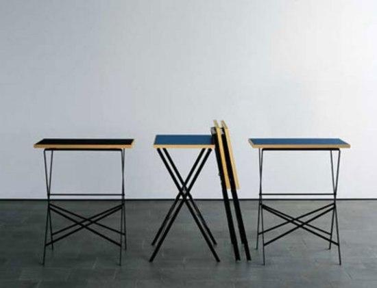 Folding table di Lehni | Tavolini d'appoggio