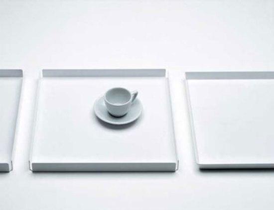 Serving tray by Lehni | Bowls