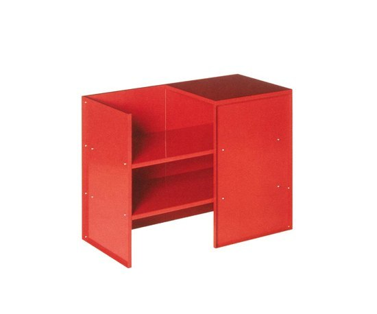 Judd No.9 tablebench by Donald Judd by Lehni | Upholstered benches