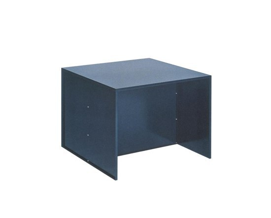 Judd No.10 table de Donald Judd by Lehni | Mesas comedor