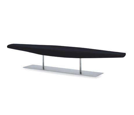 In out bench | IO/2S by Cappellini | Waiting area benches