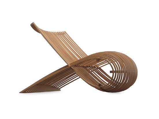 Wooden Chair | MN/30 by Cappellini | Lounge chairs