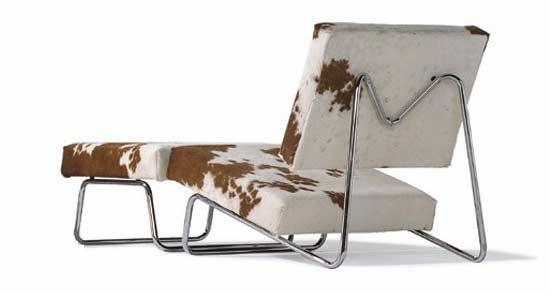 Lounge chair/ottoman Hirche by Richard Lampert | Armchairs