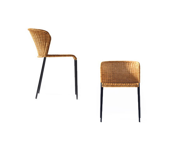 Santa Lucia Rattan Chair by Lampert | Restaurant chairs