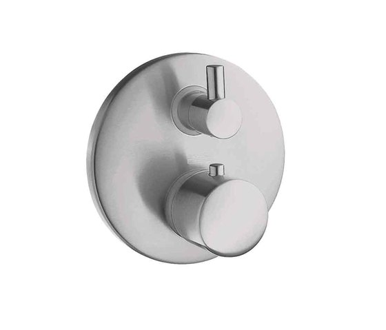 AXOR Steel Thermostatic Mixer by AXOR | Shower taps / mixers