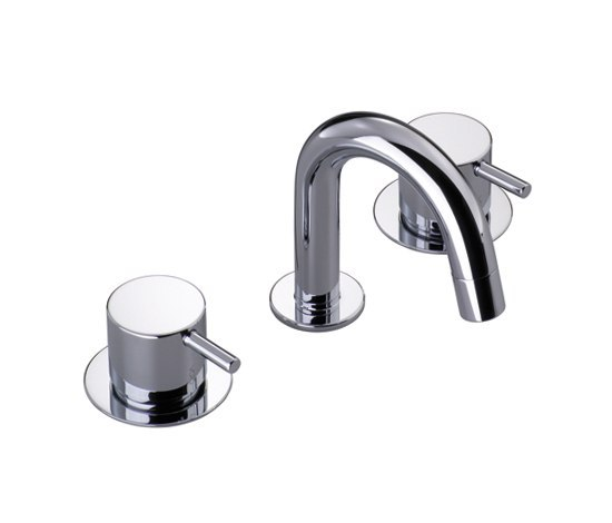 HV5 - Three-hole mixer by VOLA | Wash-basin taps