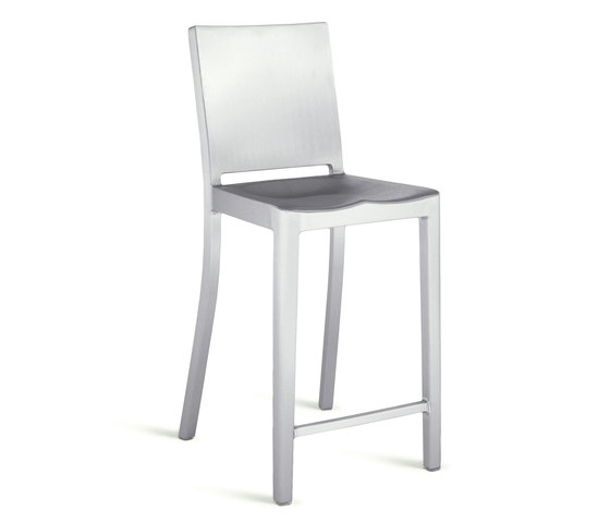 Hudson Counter stool de emeco | Tabourets de bar