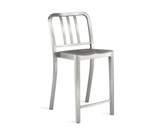 Heritage Stacking counter stool by emeco | Bar stools