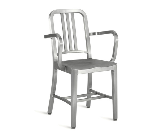 Navy® Armchair by emeco | Restaurant chairs