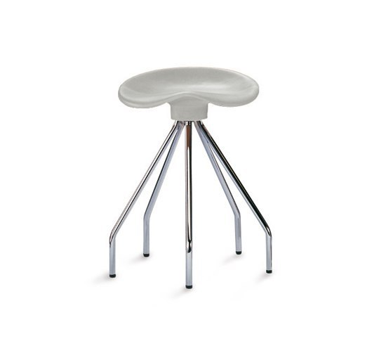 Jamaica Barstool low by BD Barcelona | Swivel stools