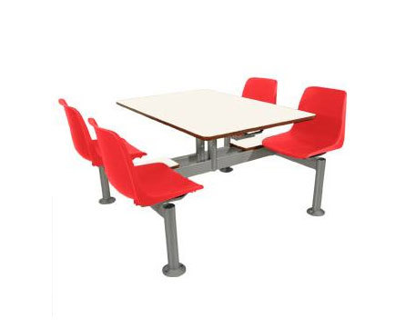 Viena Burger 4P Table by Amat-3 | Canteen chairs