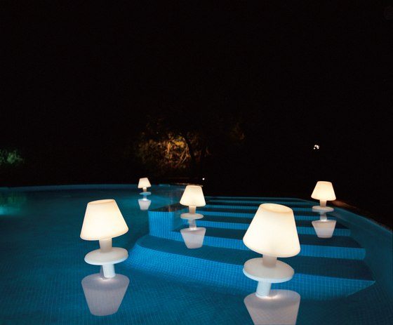 Waterproof Pool lamp di Metalarte | Lampade senza fili