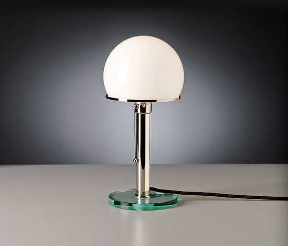 WG25GL Bauhaus Table lamp by Tecnolumen | Table lights