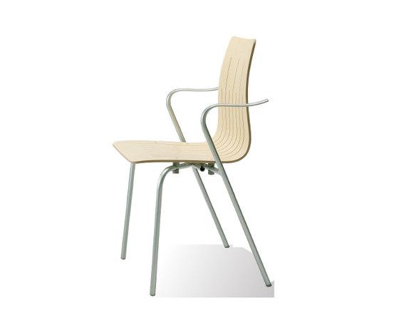 9871 Stackable Chair by Getama Danmark | Multipurpose chairs