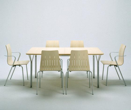 03860 Rectangular Table by Getama Danmark   Meeting room tables