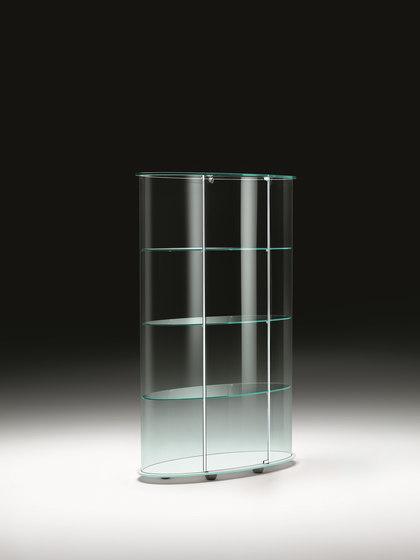 PALLADIO UNO by Fiam Italia | Display cabinets