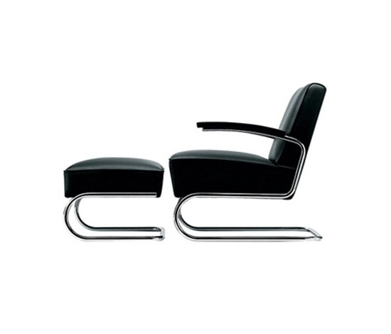 s 411 i s 411 h lounge chairs by thonet architonic. Black Bedroom Furniture Sets. Home Design Ideas