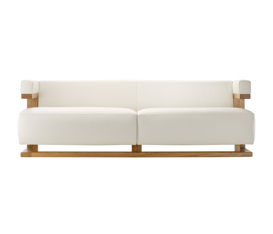 F51-3 Gropius-sofa 3 seats de TECTA | Sofás lounge