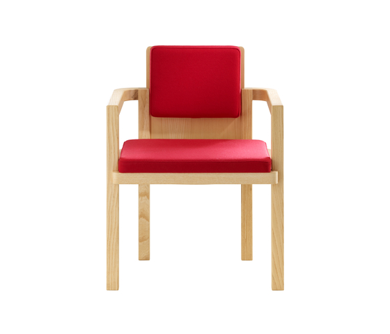 D51 Gropius-Armchair by TECTA | Visitors chairs / Side chairs