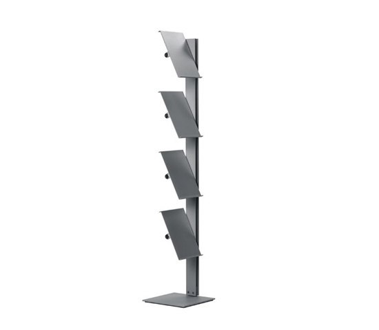 Flexxible 4 by Cascando | Brochure / Magazine display stands