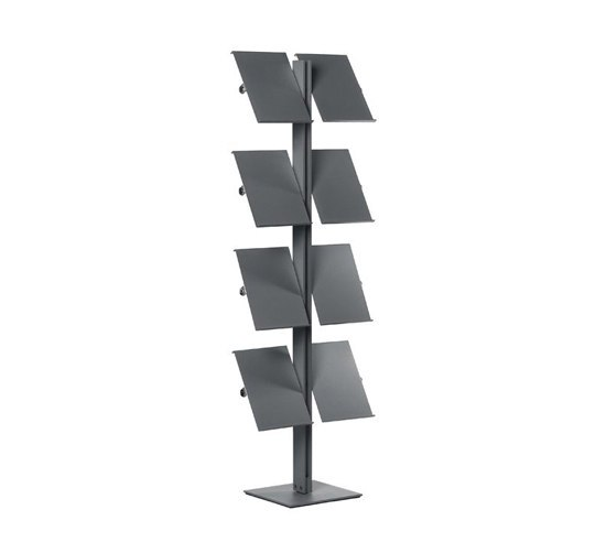 Flexxible 8 by Cascando | Brochure / Magazine display stands