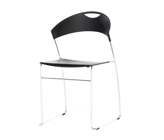 Juliette stackable chair de Baleri Italia by Hub Design | Chaises polyvalentes