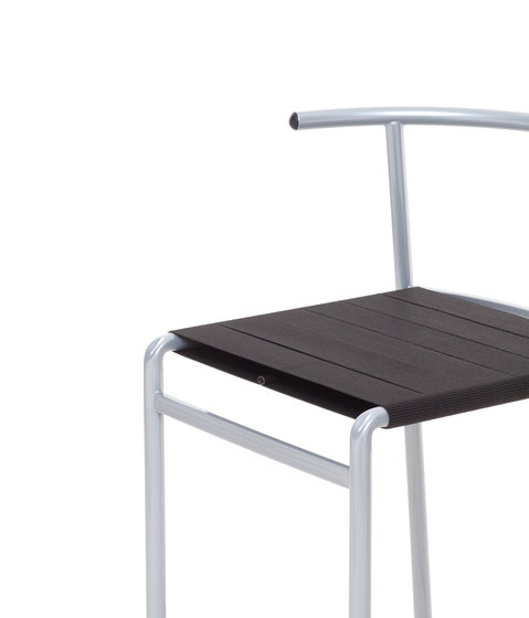 Café Chair stackable chair de Baleri Italia by Hub Design | Chaises polyvalentes